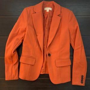 Burnt orange Michael Kors blazer